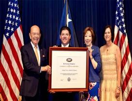 Greater Irvine Chamber Receives Presidential Award for Export Service