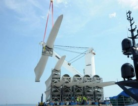 Port of Davisville Expands Barge Services, Welcomes Wind Turbines