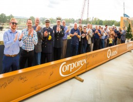 """Ovation holds """"Topping Out"""" Ceremony"""