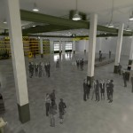 Rendering of the Benteler Training Center. Image courtesy of Benteler Steel/Tube.