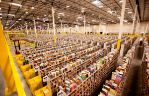 The Baltimore fulfillment center will be patterned off other operations in the country.  Photo credit: Amazon