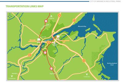 TransportationlinksMap