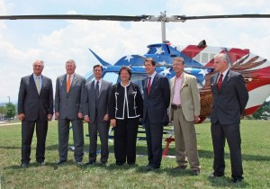 Bell Helicopter and Northeast State Community College partner on an aviation curriculum initiative in Sullivan County. Photo: Networks Sullivan Partnership