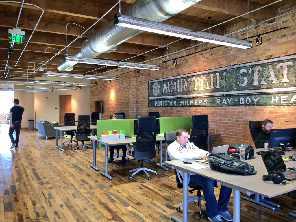 Co-Working Spaces Invigorate Downtowns