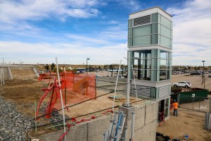 The Gateway Park East Station Area Plan is the outcome of a planning process by the city of Aurora in partnership with Gateway Business Park. It will be the first FasTracks station encountered when leaving DIA. Photo: Denver International Airport