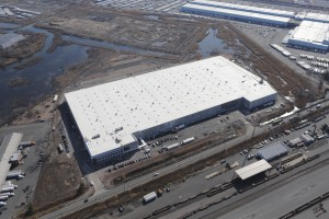 An aerial view of Goya Foods Inc.'s new 638,000 square foot Northeast headquarters and regional distribution center, located in Jersey City. New Jersey is home to 1,900 food manufacturing companies. Photo: Choose New Jersey