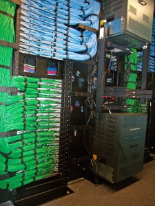 Data center structured cabling plant installation. Photo: PTS Data Center Solutions Inc.