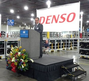 DENSO, a global automotive supplier, recently opened a shipping plant warehouse in Montgomery, which represents an investment of $2.2 million. Photo: Montgomery Area Chamber of Commerce