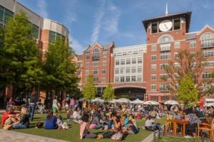 Civic Center Park Gardens.  Photo credit:  City of Rockville