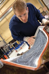Albany Engineered Composites and Safran Aerospace Composites co-located a manufacturing plant in Rochester. Photo: NHED