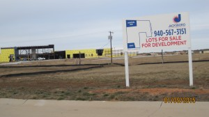 Construction of a new hospital is underway in rural Jacksboro, which very few small communities have the ability to support.