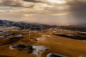 Wind farm in Power County, Idaho. Photo: energy.gov