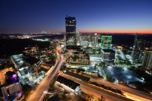 Skyline of Buckhead area of Atlanta. Photo: Georgia Department of Economic Development