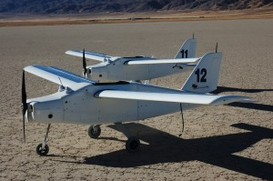 Dakota UAVs used in classified military tests in Nevada. Photo: Copyright FTC LLC