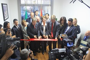 ACA officials celebrate the grand opening of their Mexico City office in 2014 – Mexico is the state's No. 1 trading partner. Photo: Arizona Commerce Authority