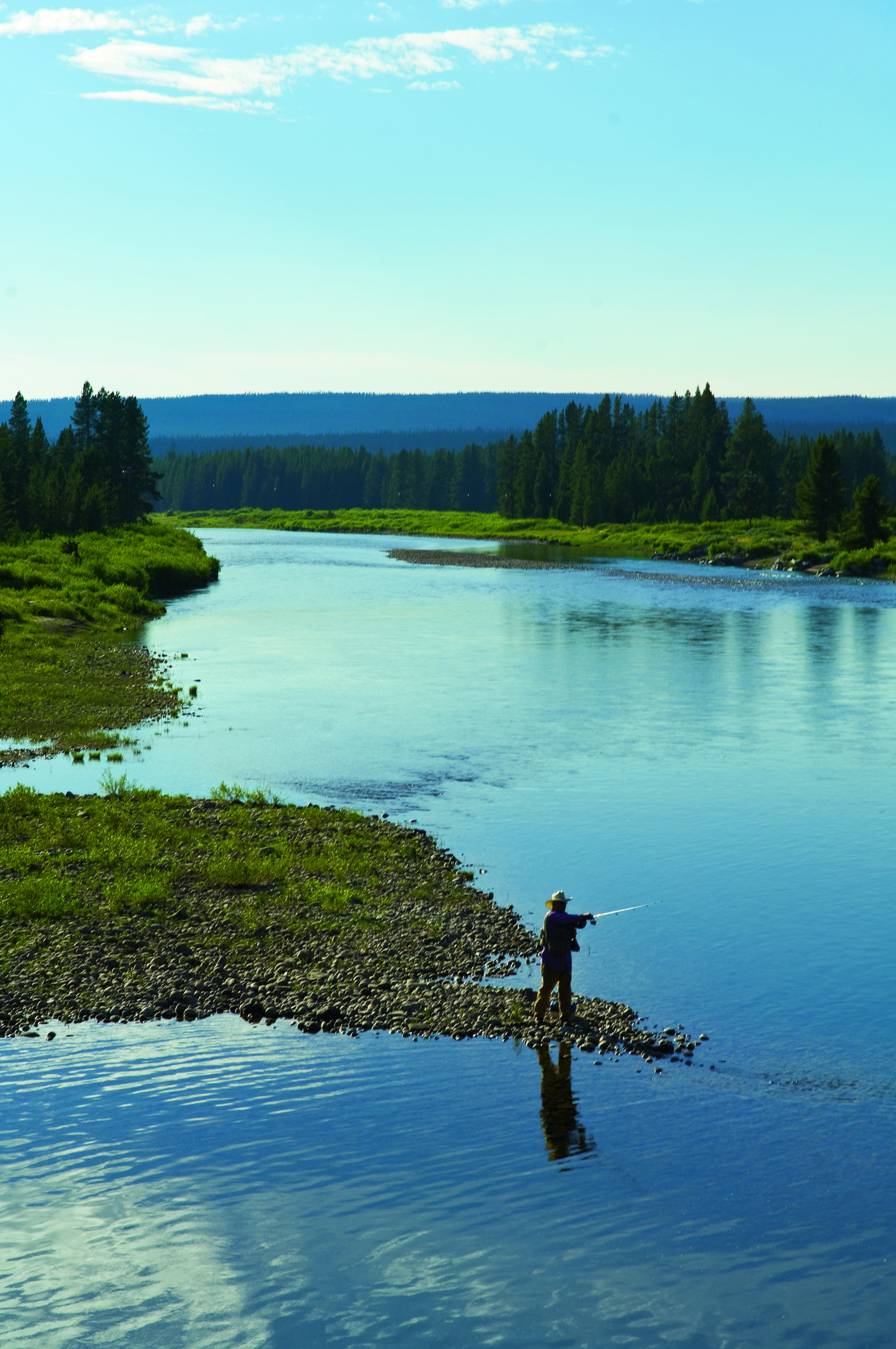 Wyoming grows technology and innovation assets for Yellowstone national park fishing