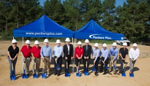 Ground breaking ceremony for Packers Plus at the Tomball (Texas) Business and Technology Park. Photo Copyright: D&K Photography