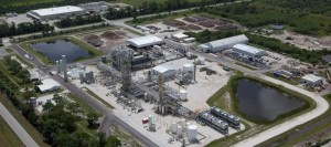 INEOS Bio is a new $130 million bioenergy plant, which converts vegetative waste to ethanol. The facility is located next to the county landfill. Image: Indian River County Chamber of Commerce