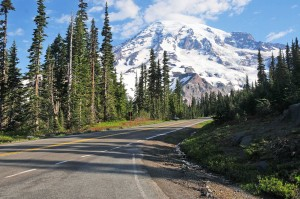 Mount Rainer offers a great trip to the scenic Cascade Mountain Range.
