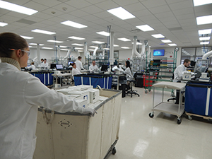 Exact Sciences Corporation's Madison, Wisconsin-based lab. Photo by Exact Sciences Corporation