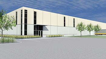 Henry County Shell Rendering. Courtesy of New Castle-Henry County EDC.