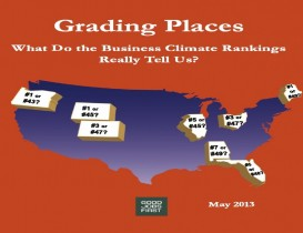 State Business Climate Rankings: No Policy Value